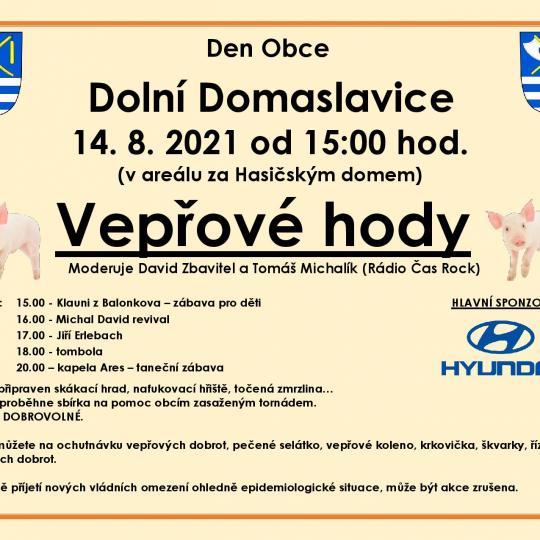 Den Obce Dolní Domaslavice - Vepřové hody 1