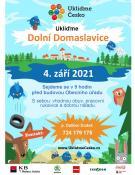 Ukliďme Česko - čištění zátopového pásma Žermanické přehrady v Dolních Domaslavicích 1